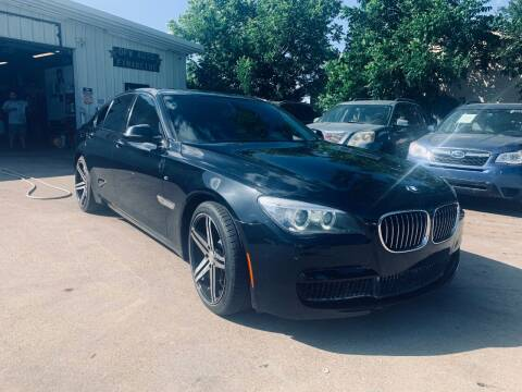2014 BMW 7 Series for sale at DFW AUTO FINANCING LLC in Dallas TX