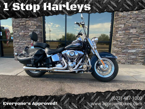 2015 Harley Davidson FLSTC Hertiage Softail for sale at 1 Stop Harleys in Peoria AZ