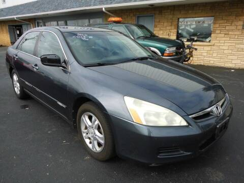 2007 Honda Accord for sale at Cycle M in Machesney Park IL