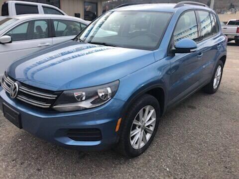 2017 Volkswagen Tiguan for sale at Matt Jones Preowned Auto in Wheeling WV