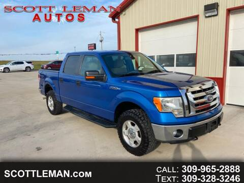 2011 Ford F-150 for sale at SCOTT LEMAN AUTOS in Goodfield IL