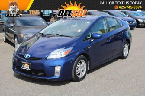 2011 Toyota Prius for sale at Del Sol Auto Sales in Everett WA