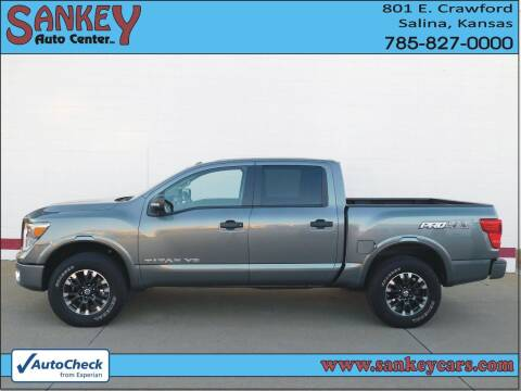 2019 Nissan Titan for sale at Sankey Auto Center, Inc in Salina KS