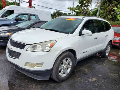 2009 Chevrolet Traverse for sale at America Auto Wholesale Inc in Miami FL