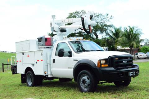 2006 Ford F-550 Super Duty for sale at American Trucks and Equipment in Hollywood FL