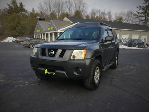 2008 Nissan Xterra for sale at 207 Motors in Gorham ME