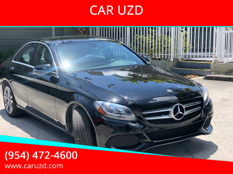 2018 Mercedes-Benz C-Class for sale at CAR UZD in Miami FL