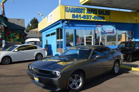 2011 Dodge Challenger for sale at Earnest Auto Sales in Roseburg OR