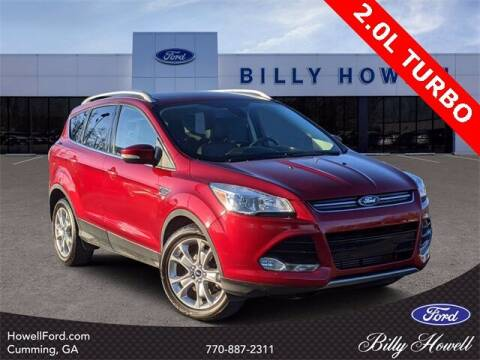 2015 Ford Escape for sale at BILLY HOWELL FORD LINCOLN in Cumming GA