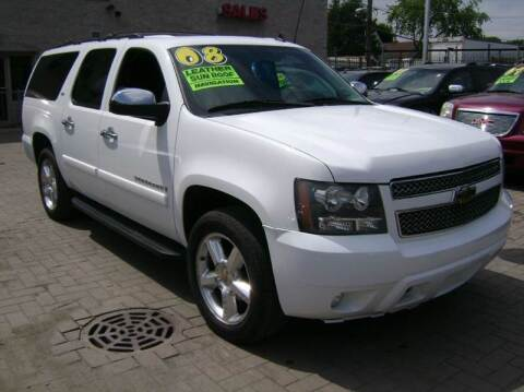 2008 Chevrolet Suburban for sale at Capital Motors Credit, Inc. in Chicago IL