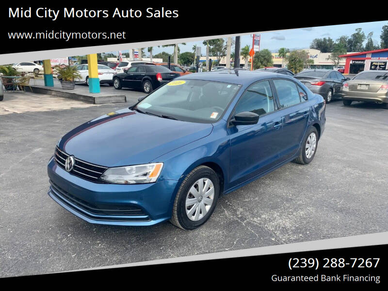 2016 Volkswagen Jetta for sale at Mid City Motors Auto Sales - Mid City South in Fort Myers FL
