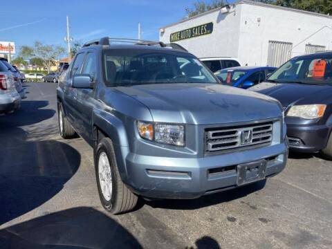2007 Honda Ridgeline for sale at Mike Auto Sales in West Palm Beach FL