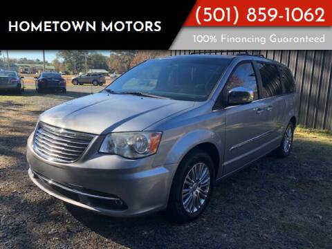 2013 Chrysler Town and Country for sale at Hometown Motors in Maumelle AR