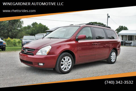 2007 Kia Sedona for sale at WINEGARDNER AUTOMOTIVE LLC in New Lexington OH