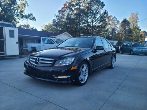 2013 Mercedes-Benz C-Class for sale at DADA AUTO INC in Monroe NC