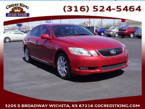 2006 Lexus GS 300 for sale at Credit King Auto Sales in Wichita KS