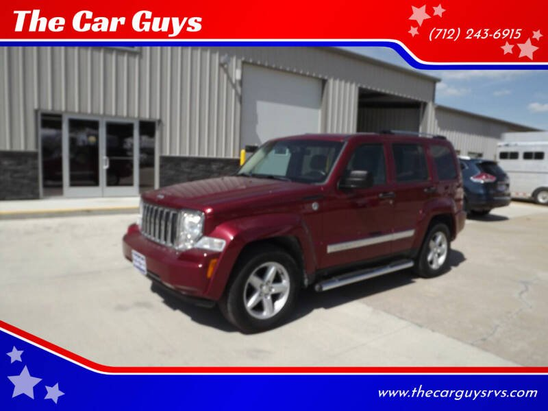 2012 Jeep Liberty for sale at The Car Guys in Atlantic IA