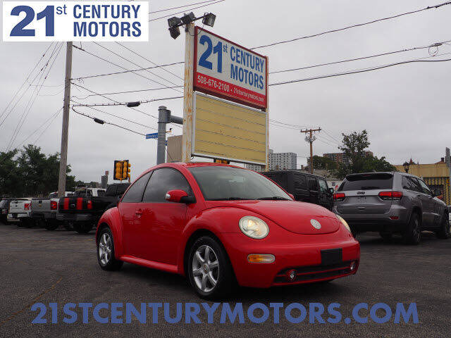 2005 Volkswagen New Beetle for sale at 21st Century Motors in Fall River MA