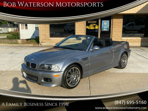 2005 BMW M3 for sale at Bob Waterson Motorsports in South Elgin IL