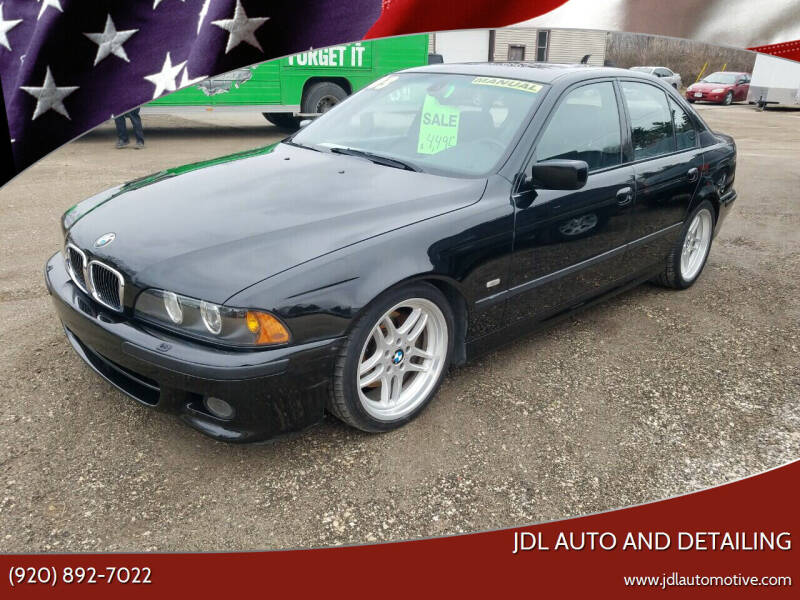 2003 BMW 5 Series for sale at JDL Automotive and Detailing in Plymouth WI