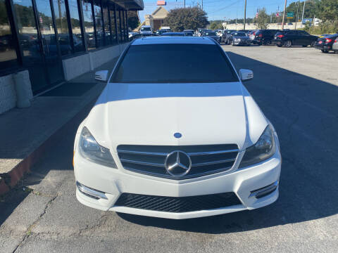 2014 Mercedes-Benz C-Class for sale at J Franklin Auto Sales in Macon GA