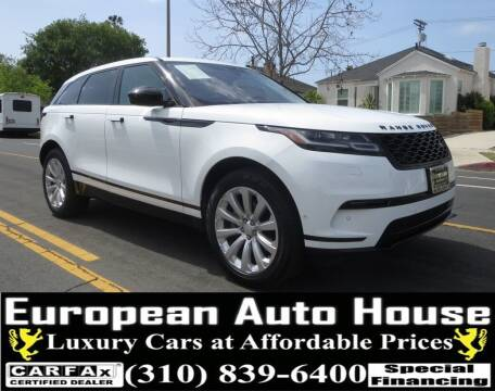 2018 Land Rover Range Rover Velar for sale at European Auto House in Los Angeles CA