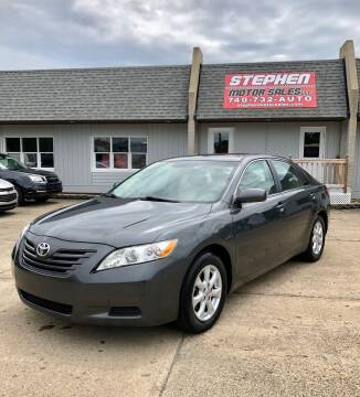 2007 Toyota Camry for sale at Stephen Motor Sales LLC in Caldwell OH