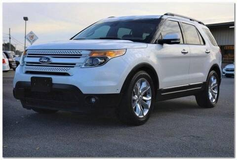 2013 Ford Explorer for sale at WHITE MOTORS INC in Roanoke Rapids NC