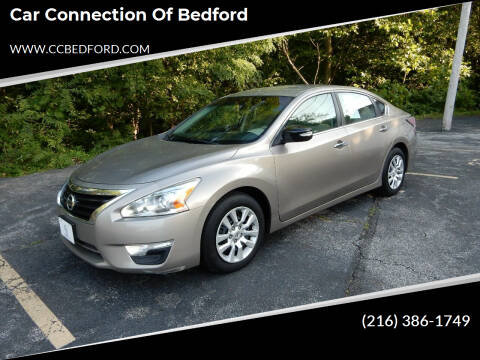 2014 Nissan Altima for sale at Car Connection of Bedford in Bedford OH