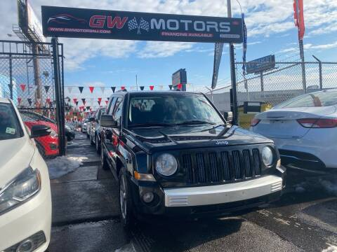 2008 Jeep Patriot for sale at GW MOTORS in Newark NJ