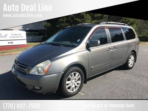 2010 Kia Sedona for sale at Auto Deal Line in Alpharetta GA