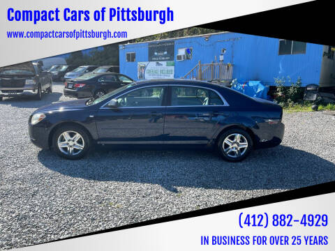2008 Chevrolet Malibu for sale at Compact Cars of Pittsburgh in Pittsburgh PA