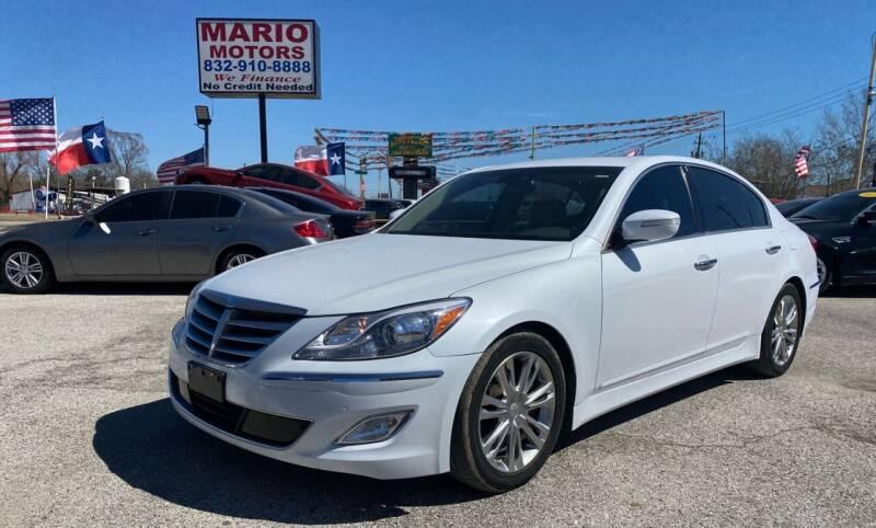 2014 Hyundai Genesis for sale at Mario Motors in South Houston TX