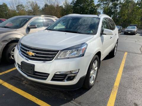 2017 Chevrolet Traverse for sale at NEUVILLE CHEVY BUICK GMC in Waupaca WI