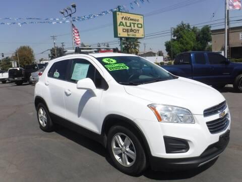 2015 Chevrolet Trax for sale at HILMAR AUTO DEPOT INC. in Hilmar CA