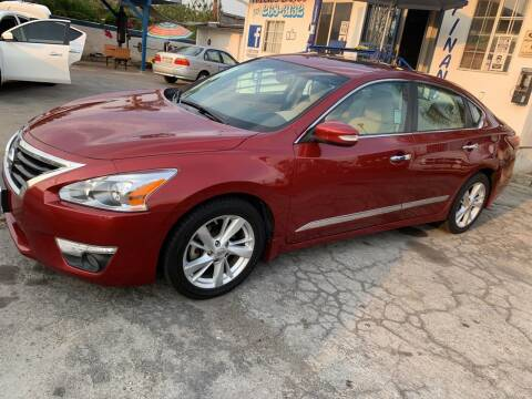2015 Nissan Altima for sale at Olympic Motors in Los Angeles CA
