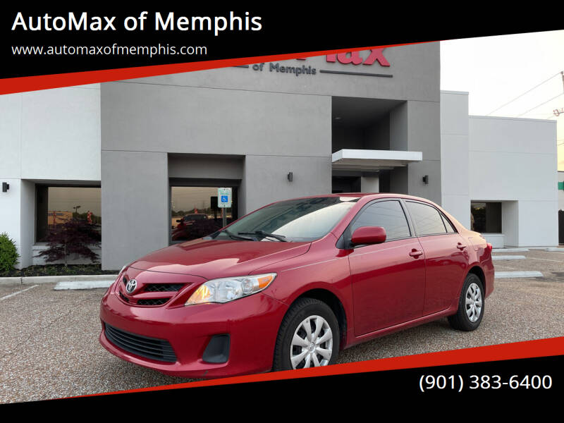2011 Toyota Corolla for sale at AutoMax of Memphis - Darrell James in Memphis TN