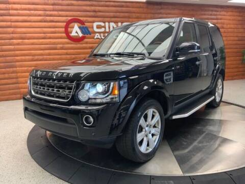 2016 Land Rover LR4 for sale at Dixie Motors in Fairfield OH