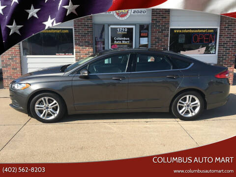 2018 Ford Fusion for sale at Columbus Auto Mart in Columbus NE
