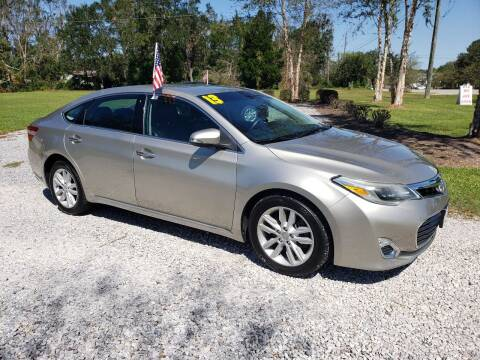 2013 Toyota Avalon for sale at Darwin Harris Automotive in Fairhope AL