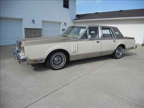 1983 Lincoln Mark VI for sale at OLSON AUTO EXCHANGE LLC in Stoughton WI