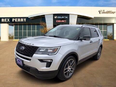 2018 Ford Explorer for sale at AutoJacksTX.com in Nacogdoches TX