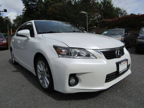 2012 Lexus CT 200h for sale at Direct Auto Access in Germantown MD
