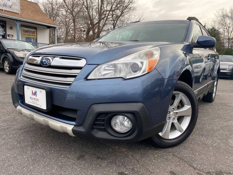 2013 Subaru Outback for sale at Mega Motors in West Bridgewater MA