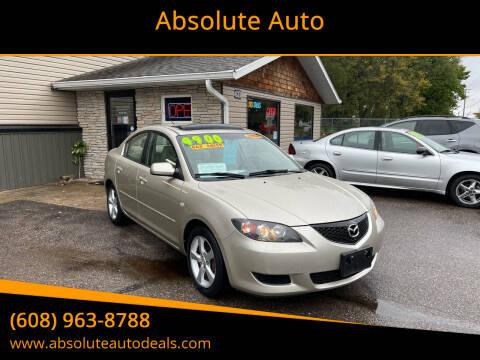 2006 Mazda MAZDA3 for sale at Absolute Auto in Baraboo WI