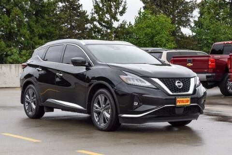 2019 Nissan Murano for sale at Chevrolet Buick GMC of Puyallup in Puyallup WA