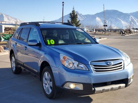 2010 Subaru Outback for sale at FRESH TREAD AUTO LLC in Springville UT
