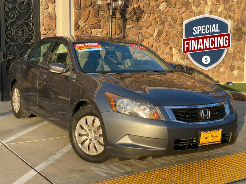 2010 Honda Accord for sale at Car Deal Auto Sales in Sacramento CA