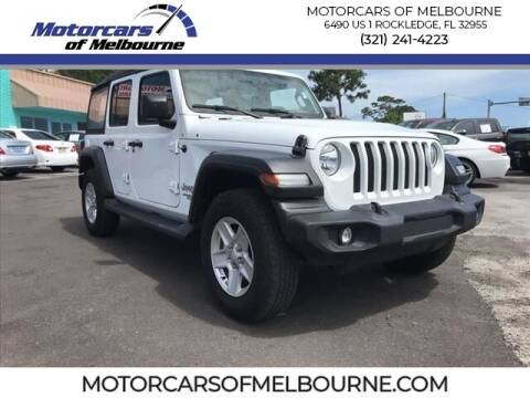 2018 Jeep Wrangler Unlimited for sale at Motorcars of Melbourne in Rockledge FL