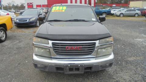 2009 GMC Canyon for sale at Auto Mart - Moncks Corner in Moncks Corner SC